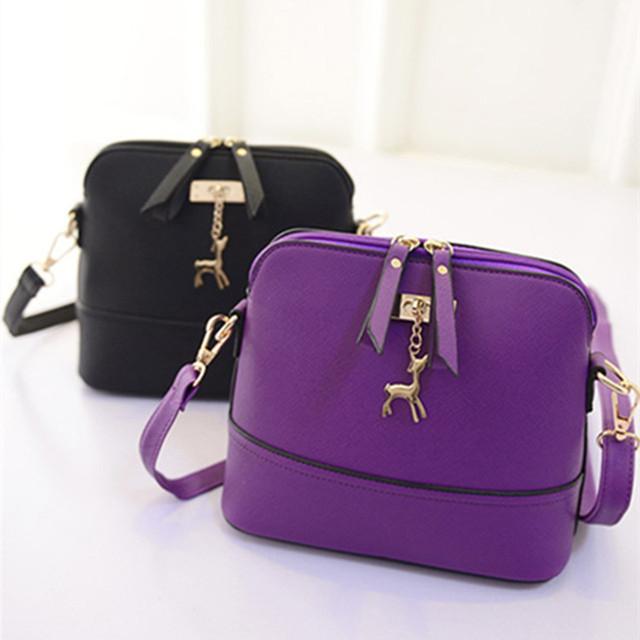 Mulheres mensageiro sacos de verão pequeno Shell bolsa de couro Pu