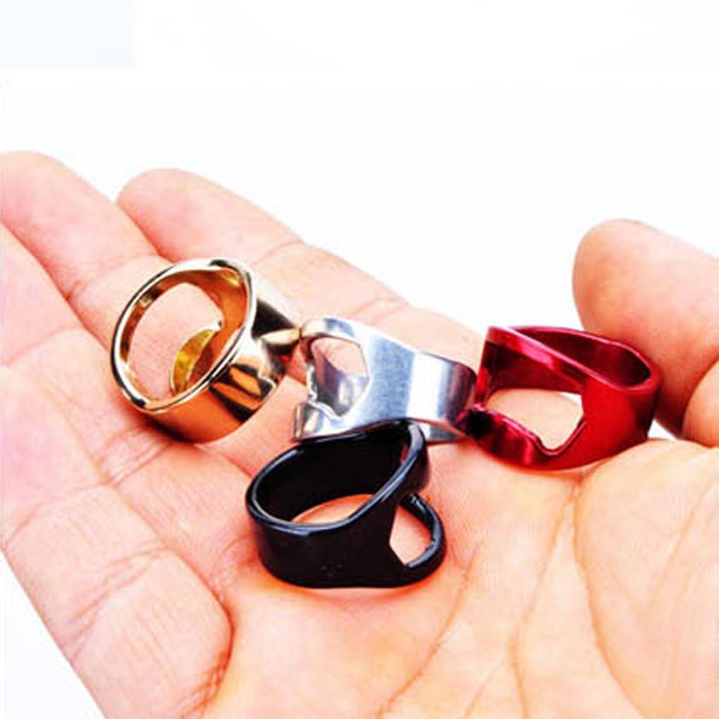 New Cute Metal Finger Ring Bottle Opener Bar Beer Tool Cap ...