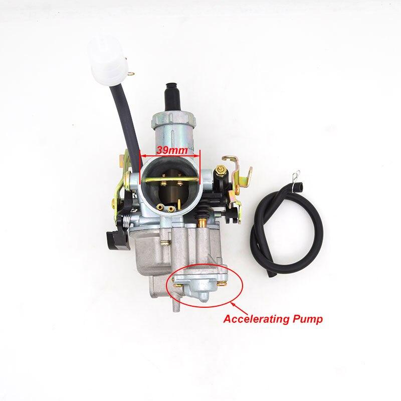 Carburateur moto accélération pompe PZ30 30mm pour 175cc 200cc 250cc CG200 CG250 CG 200 CG 250 Dirt Bike ATV Go chariots TaoTao