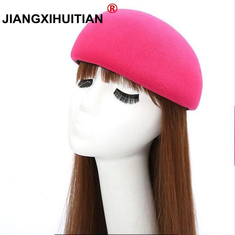 2017 Mode Bowknot Fedoras Hüte Mit Leder Seil Neue Winter Hut Elegante Kuppel Erwachsene Kappen Kopfbedeckungen Für Frauen Heiße Art Gorros GroßEs Sortiment