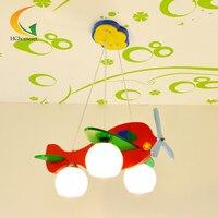 E27 детей лампа спальня 3 головы подвесной светильник led светодиодный проектор детей ночника для детей Детские