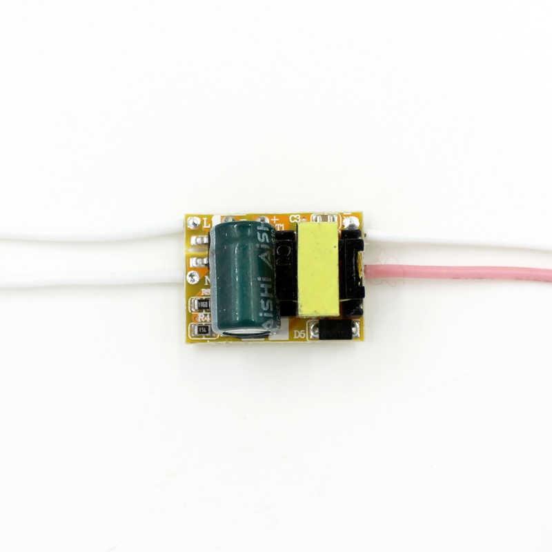 Adaptador de fuente de alimentación LED de 1-3W entrada AC90-265V salida DC3-12V transformador de corriente constante 240-300mA para lámpara Led DIY