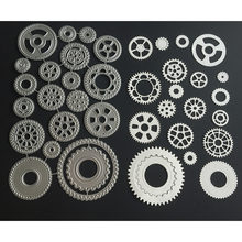 Die Customized Gear Frame Gear Cutting Dies Frame Metal Cutting Dies Stencilfor DIY Scrapbooking Album Paper Card Embossing dies(China)