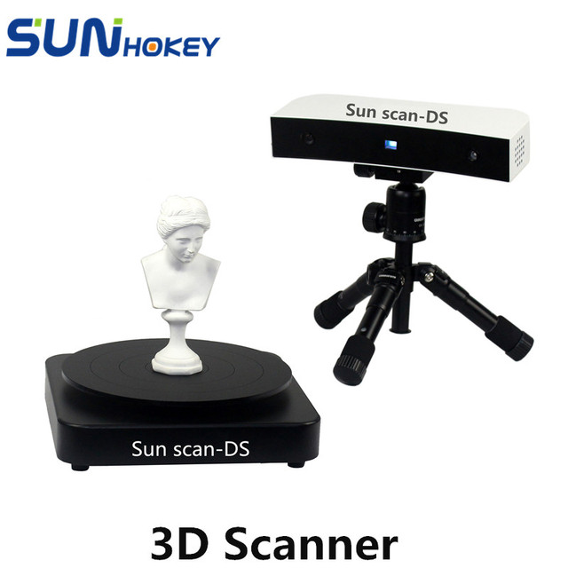 Sunhokey High precision All metal 3D Scanner Sunscan-DS Dual-mode Blue Light Portable Scan Win7 Operating System USB interface