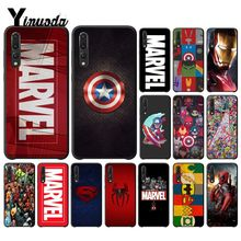 Yinuoda Deadpool Iron Man Marvel Avengers  Black Phone Case for Huawei P10 Plus Mate10 Mate20 Pro 10Lite P20 Honor10 View10