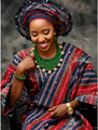 2017 Verde de Moda Hecha A Mano Cristalina Nupcial de La Boda Joyería Africana Fija/Mujeres Collar de Perlas de Set Envío Libre ANJ301