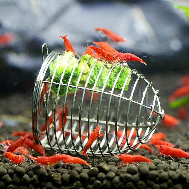 edelstahl garnelen aquarium lebensmittel unten feeder. Black Bedroom Furniture Sets. Home Design Ideas
