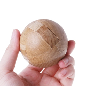 Wooden Puzzle Magic Ball Intel