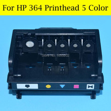 5 Color Nozzle Printhead For HP 364 Print Head For HP Photosmart B8550 C5380 CN503B C6324 C6380 C410B D5460 Printer цена 2017