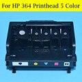 5 Cor Bocal Da Cabeça De Impressão Para HP 364 da Cabeça De Impressão Para HP Photosmart C410B CN503B B8550 C5380 C6324 C6380 D5460