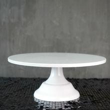 SWEETGO Grand baker подставка для торта 12 дюймов белый свадебный торт инструменты жаропрочная посуда для фондан украшения торта принадлежности десертный стол pops