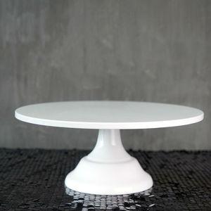 Image 1 - SWEETGO Grand Baker soporte para pastel, 12 pulgadas, herramientas de boda blancas, molde para Fondant, suministros de decoración de cupcakes, mesa de postre