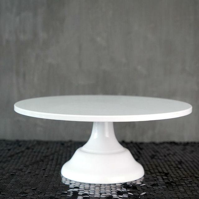 SWEETGO Grand Baker soporte para pastel, 12 pulgadas, herramientas de boda blancas, molde para Fondant, suministros de decoración de cupcakes, mesa de postre
