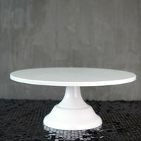 Grand Baker Cake Stand 12 Inch White Wedding Cake Tools Fondant Cake Accessory Display Plate For
