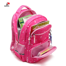 Fashion School Bags For Teenagers New Small fresh Floral Printed Children Backpacks Schoolbags For Girls And Boys Kids Book Bag недорого