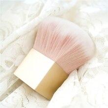 Professional Blush Brush 1pcs Golden Face Powder Foundation Makeup Brush Kabuki Brush,Free Shipping