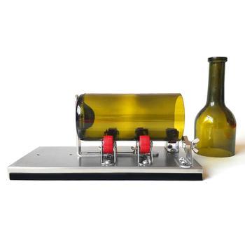 Coupeur de bouteille en verre d'acier inoxydable, nouveaux outils de coupe de bouteille en verre de vin de bière de conception professionnelle