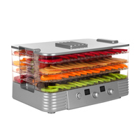 Convenient Large Capacity Fruit Drying Machine Pet Meat Food Dryer Tool Automatic Fruit Vegetable Dehydrator Air