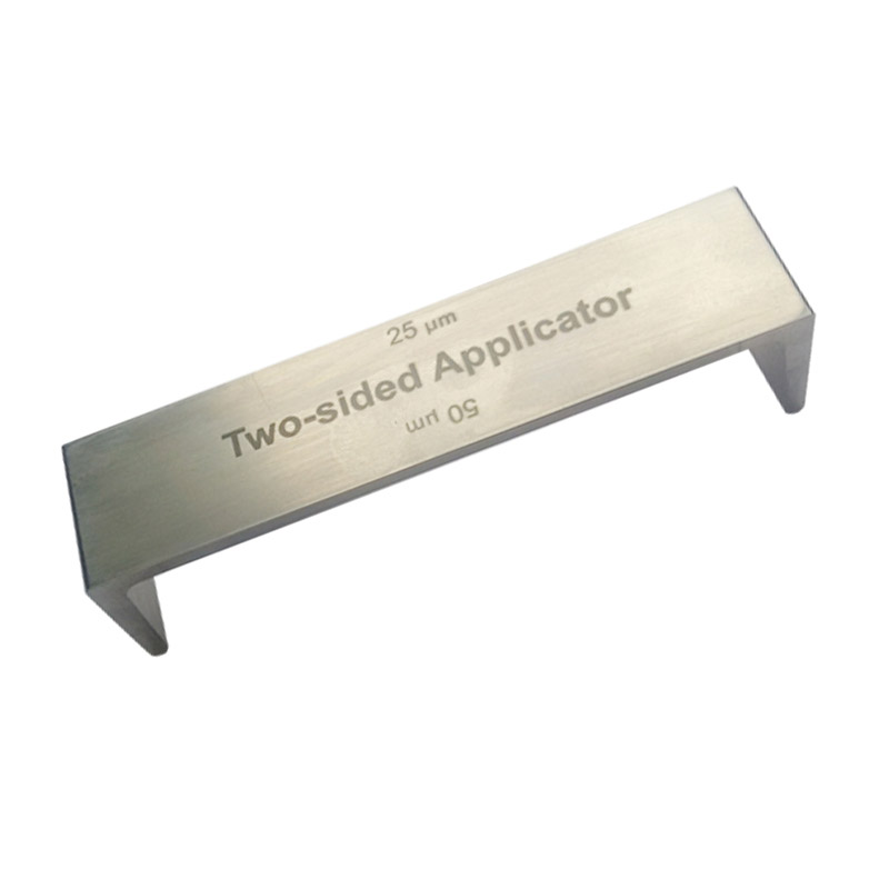 25-400um Range Stainless Steel Double Side Wet Film Applicator Use For Printing Industrial