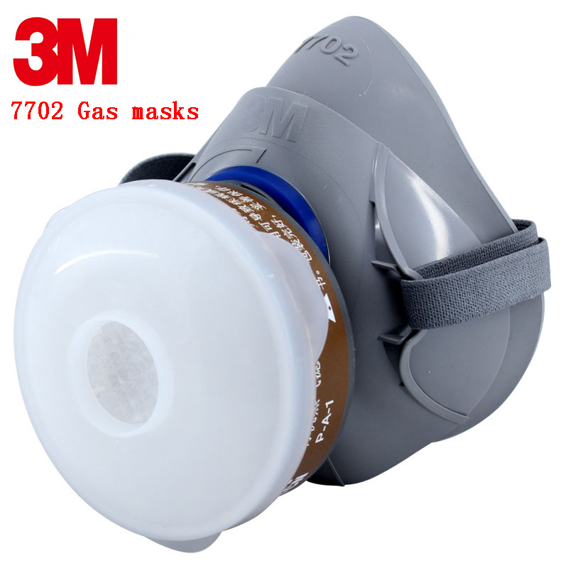 3M 7702 Advanced Silicone protective mask Comfortable type soft respirator mask Painting Graffiti respirator gas mask 3m 7702 advanced silicone protective mask comfortable type soft respirator mask painting graffiti respirator gas mask