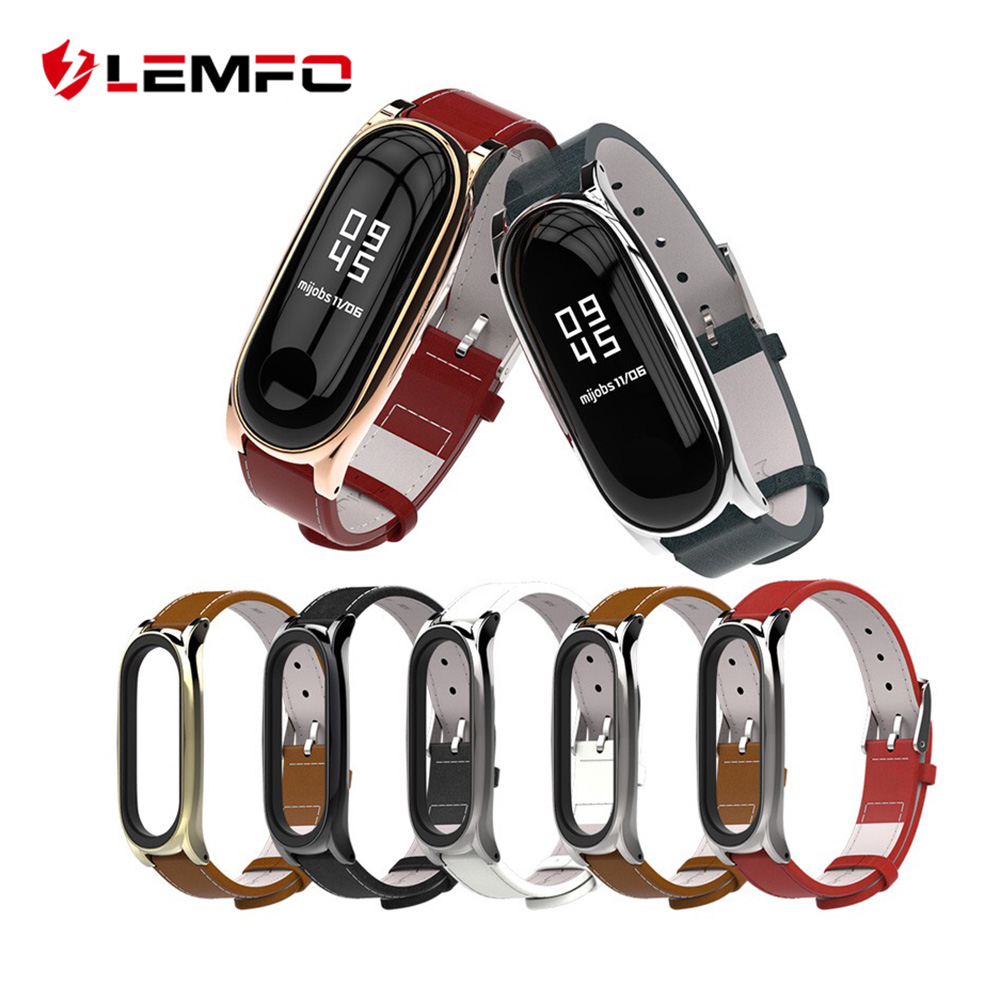 LEMFO Smart-Accessories Bracelet Band Metal-Case 3-Strap Xiaomi for 3-strap/Band/2-replacement/..