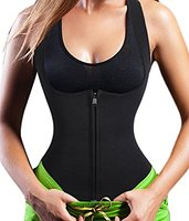 Sauna Vest Suit Neoprene Trainer Top Sweat Slimming Shirt For Weight Loss Workout Free Shipping