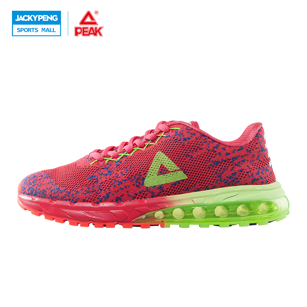 PEAK SPORT Men Breathable Running Shoes Breathable Sport Running Shoes for Women Summer Pink Training Shoes kelme 2016 new children sport running shoes football boots synthetic leather broken nail kids skid wearable shoes breathable 49