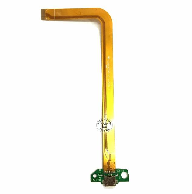 Para a hp slate 7 conector dock micro usb de carregamento do carregador placa do módulo de substituição da fita cabo flex porto