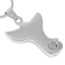 Silver Angel Urn Necklace
