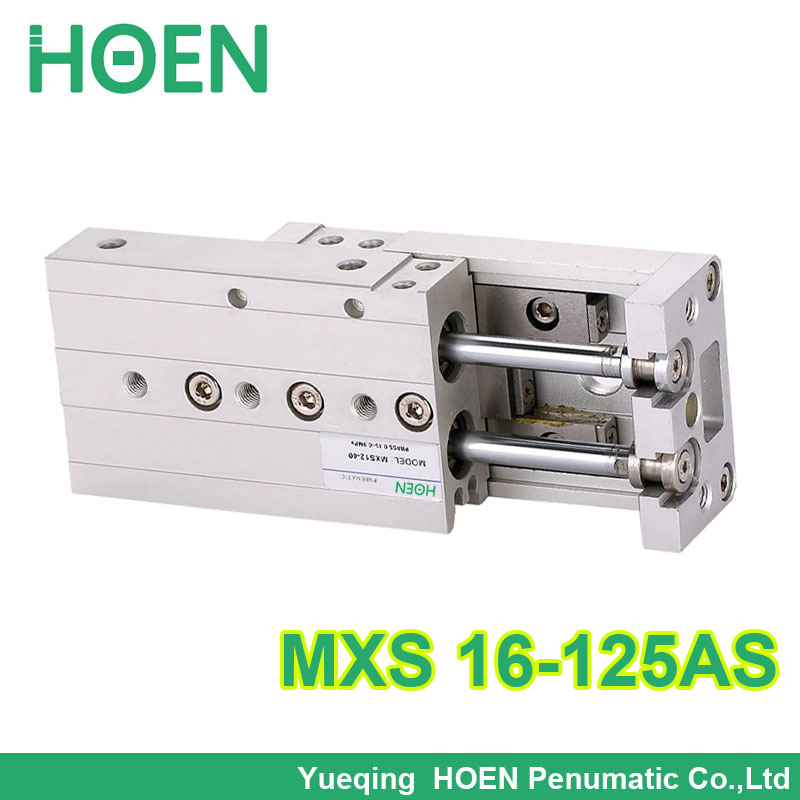 Big quality MXS16-125 SMC Type MXS series Cylinder MXS16-125AS Air Slide Table Double Acting 16mm-125mm Accept custom 20pcs z0103ma z0103 to92
