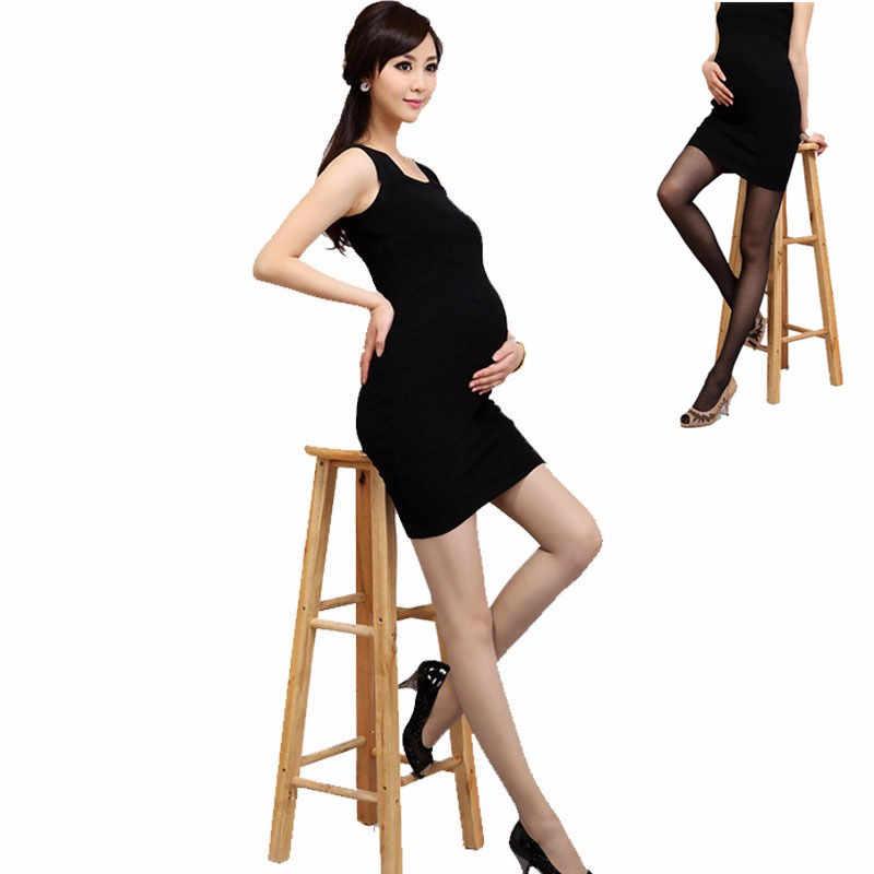 ฤดูร้อนถุงน่องบาง Tights ถุงน่องสำหรับหญิงตั้งครรภ์การตั้งครรภ์ Pantyhose สูงยืดหยุ่น Plus ขนาดชุดชั้นใน
