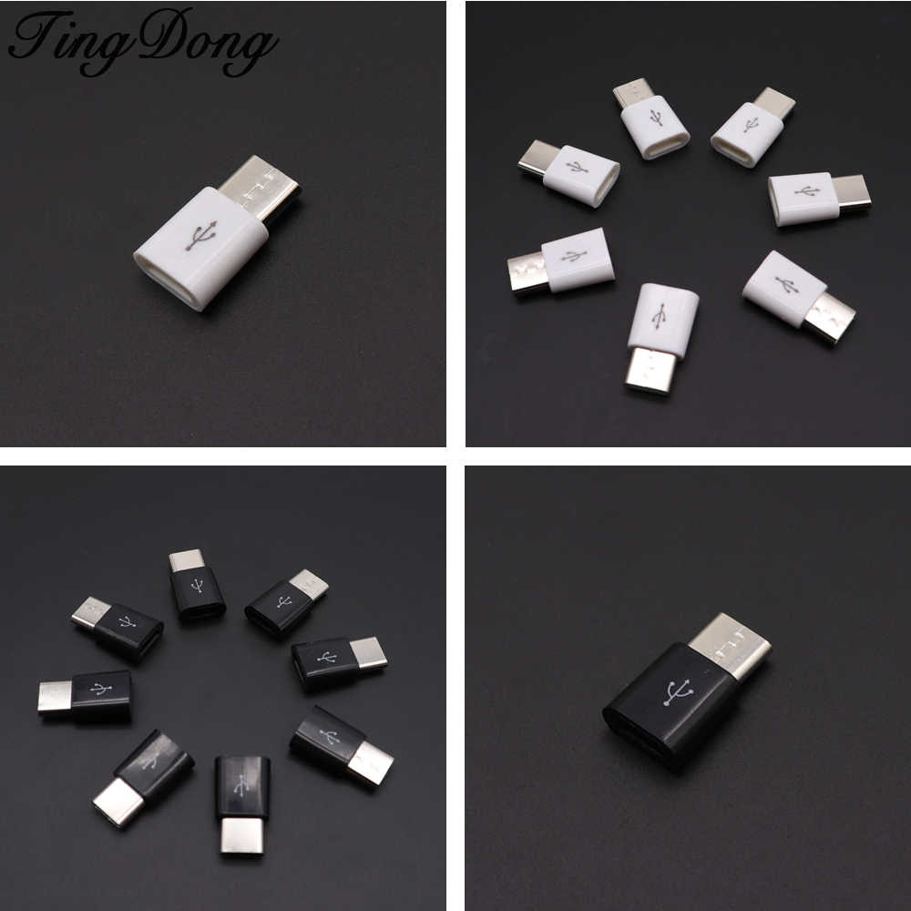 Micro USB to type c Adapter For Xiaomi Mi 8 A2 Mix 3 Mi8 SE for Huawei P20 Honor 10 Pocophone F1 USB C Type-C Converter