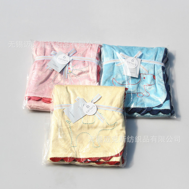2016 carters  good quality fashion Baby kids blanket  Soft Bedding Baby Nap blanket quilt  Air conditioning Knee swadding