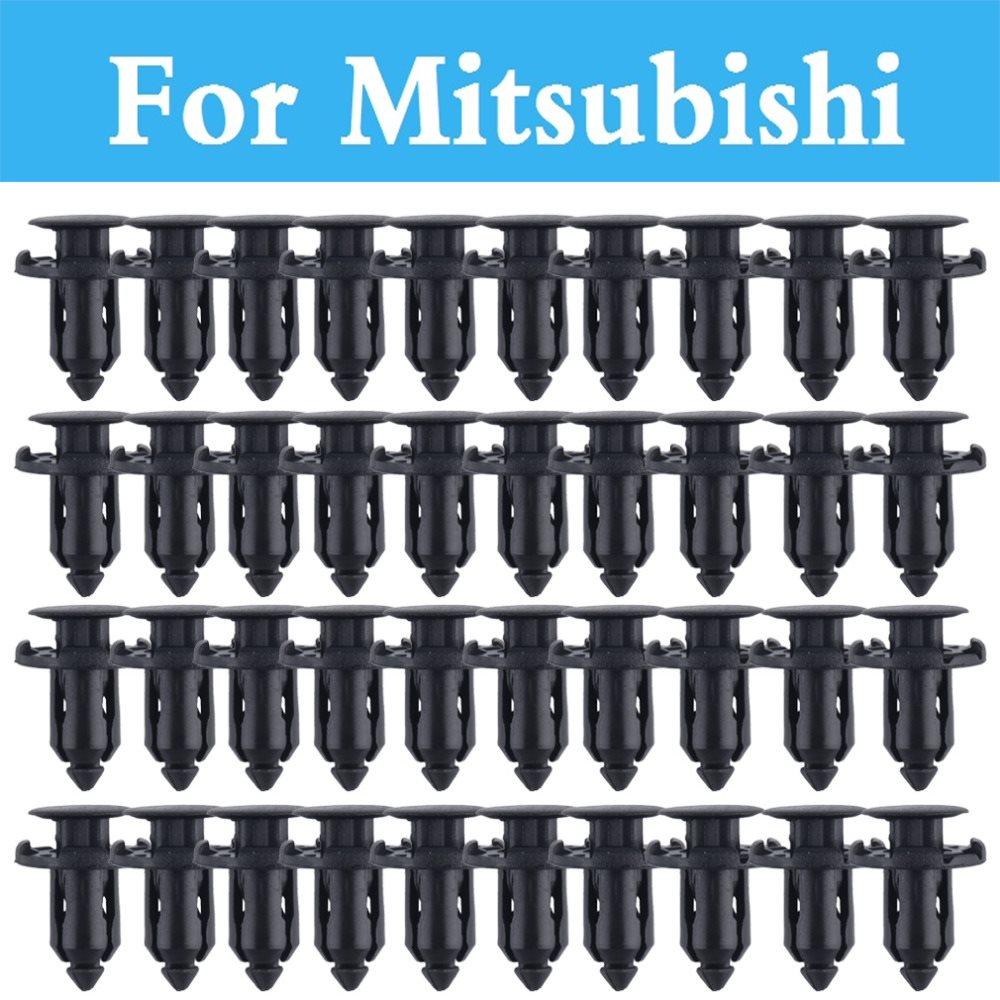 Plastic Rivets Retainer Clips Car Fender Auto Parts Panel Trim Clips For Mitsubishi Eclipse Ek Endeavor Airtrek Asx Attrage