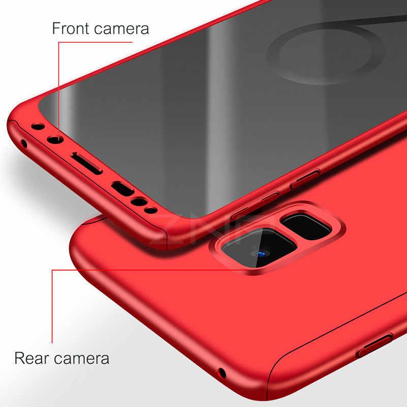 ZNP Luxury 360 องศาฝาครอบโทรศัพท์กรณีสำหรับ Samsung Galaxy S9 S8 Plus S10 กันกระแทกสำหรับ Samsung Note 8 9 S9 Plus