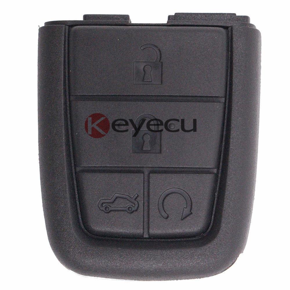 Keyecu Замена В виде ракушки складной Дело дистанционного брелок 4 + 1 кнопка для Pontia ...