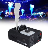 1500W Fog Smoke Machine Fogger Machine DMX controller with Remote controller DJ Stage Lighting