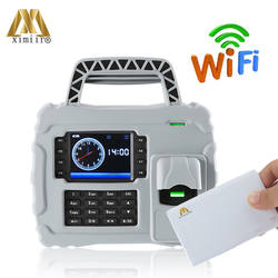 Бесплатная SDK 5000 отпечатков пальцев пользователя TCP/IP Wi-Fi S922 время сотрудника Запись 13,56 МГц карт IC отпечатков пальцев система учёта времени