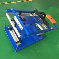 Cylinder maszyny do sitodruku dla szklanych butelek dla jednego koloru drukowanie etykiet