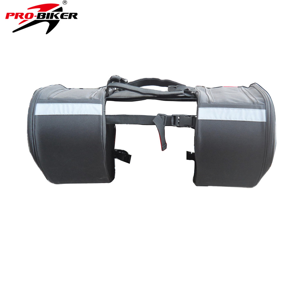 PRO-BIKER Multifunction Motorcycle Riding Travel Luggage Saddle Bag Bicycle Side Bags Saddlebags Motor Rainproof Tool Tail Bags duhan motorcycle waterproof saddle bags riding travel luggage moto racing tool tail bags black multifunction side bag 1 pair