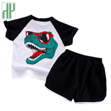 Kids boys clothes Dinosaur Print Tops Shorts Toddler Clothes Sports children Sets girls boutique outfits 1 4 years