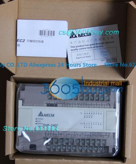 New original DVP24XN00T Delta PLC ES series Digital Extension Module 24-point 24DO NPN transistor AC power
