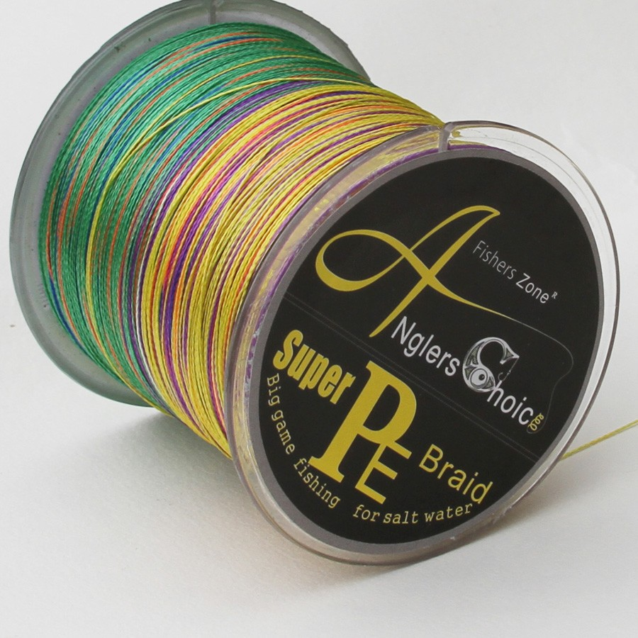4 Strands PE Braided Fishing Line 500m Japan fishing line Multifilament Fishing line cheap fishing line multi color3