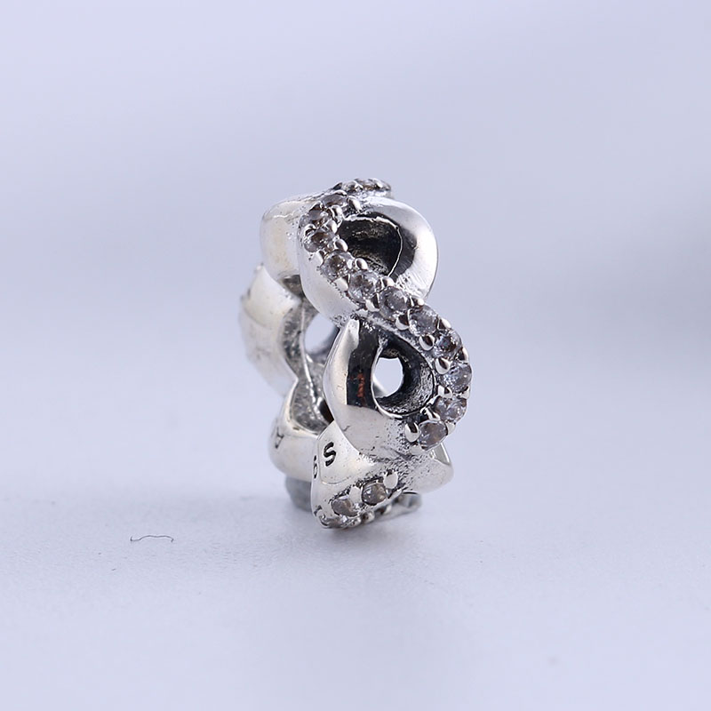 Authentic 100% 925 Sterling Silver Charms Fit Original Pandora Bracelet Luxury Love CZ Beads for Jewelry Making