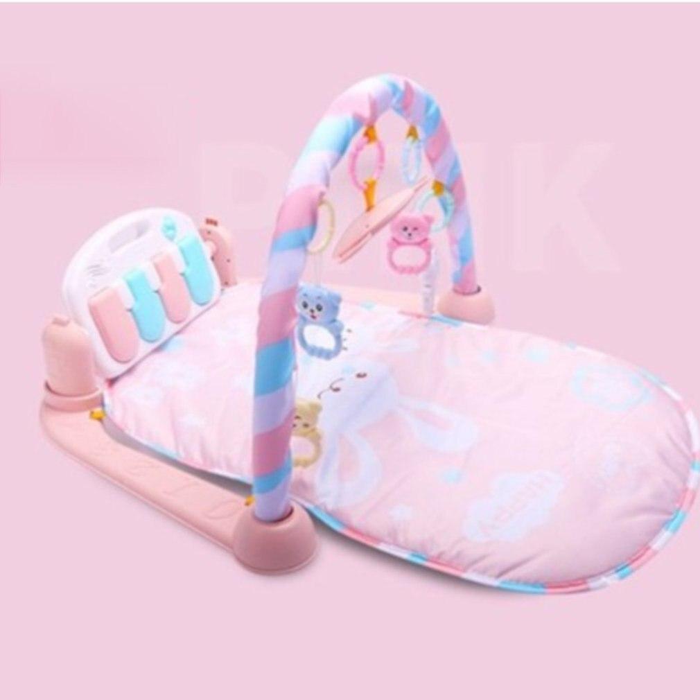 Multifonction bambin Piano pédale Fitness Rack plancher ramper couverture tapis avec musique bébé jouer tapis bébé jouet