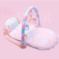 Multifunction Toddler Piano Pedal Fitness Rack Floor Crawl Blanket Carpet With Music Baby Play Mat Baby Toy