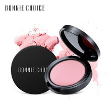 BONNIE CHOICE  Blush Makeup Powder Pressed Mineral Foundation Professional 6 Colors Face Cosmetic Long-lasting Makeup Contour цена