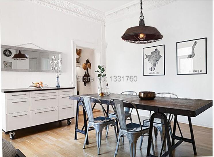 где купить North Europe style loft2 warehouse creative restaurant bar vintage American country wrought iron pendant antique pendant lamp по лучшей цене