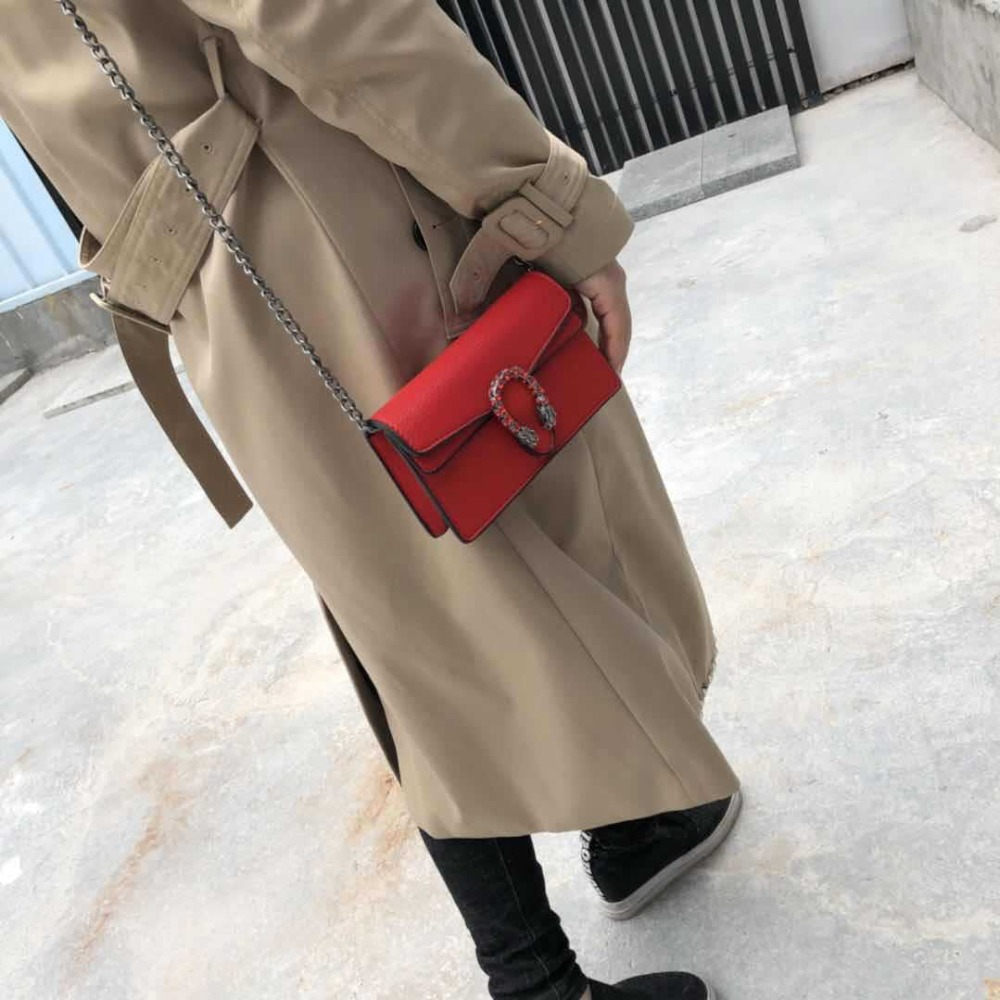 Tiptoegirls Brand Chains Bag Personalized Shoulder Bag Fashion Women Bags Candlelight Leather Small Bags Diagonal Lady GG139