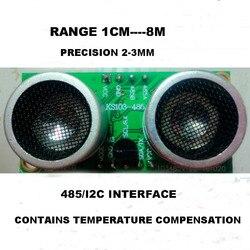 Dla modułu robota czujnik ultradźwiękowy ks103 1cm-8M 485 interfejs i2C ultradźwiękowy pomiar odległości czujnik obszar niewidomych 1cm